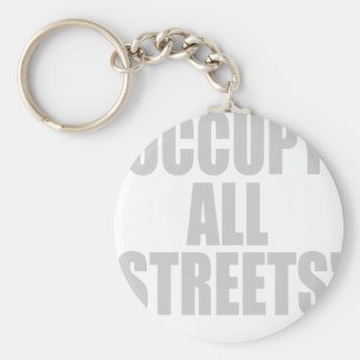 OCCUPY ALL STREETS BASIC ROUND BUTTON KEY RING