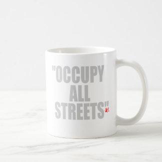 OCCUPY ALL STREETS BASIC WHITE MUG