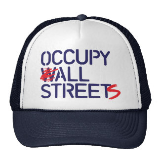 Occupy All Streets - Blue Mesh Hats