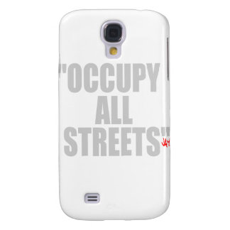 OCCUPY ALL STREETS GALAXY S4 COVER