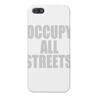 OCCUPY ALL STREETS COVER FOR iPhone 5