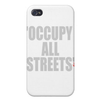 OCCUPY ALL STREETS iPhone 4/4S COVER