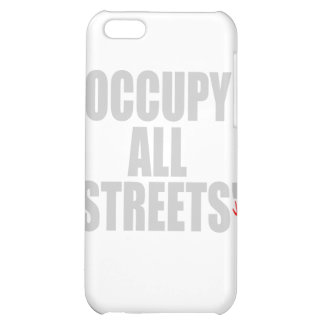 OCCUPY ALL STREETS COVER FOR iPhone 5C