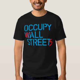 Occupy All Streets - Lite Blue.png T-shirt