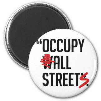 Occupy All Streets Magnets