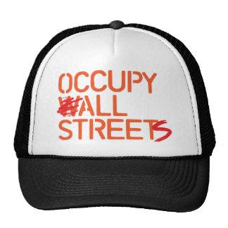 Occupy All Streets - Orange Mesh Hats