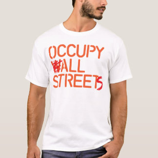 Occupy All Streets - Orange T-Shirt