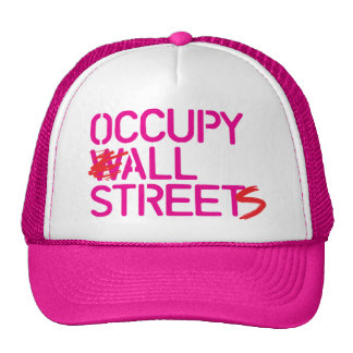 Occupy All Streets - Pink Mesh Hats