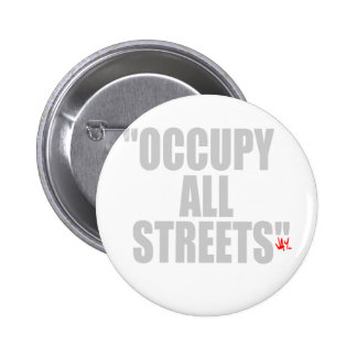 OCCUPY ALL STREETS PINS