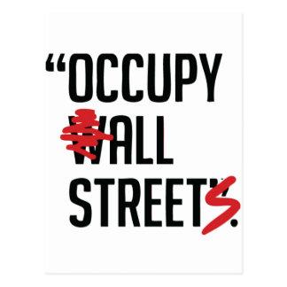 Occupy All Streets Postcard