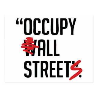 Occupy All Streets Postcard