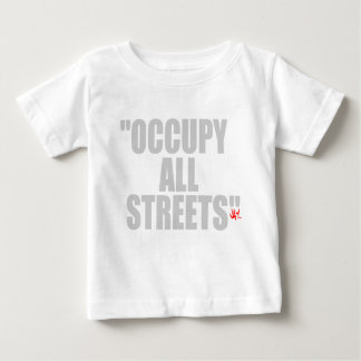 OCCUPY ALL STREETS T-SHIRTS