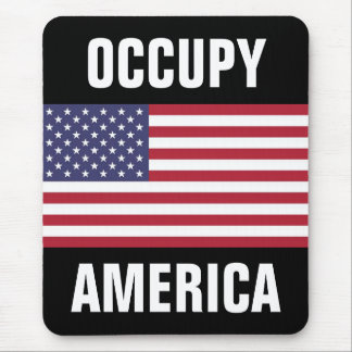 occupy america mouse pad