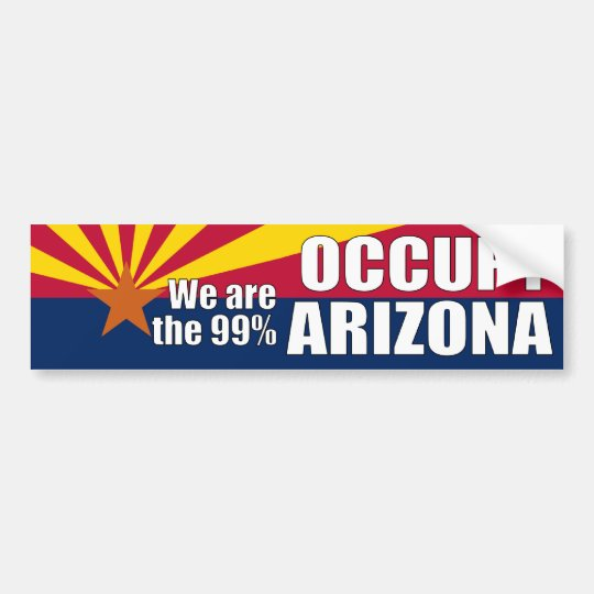 Occupy Arizona Bumper Sticker