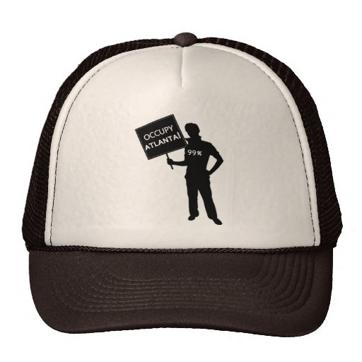 Occupy Atlanta Sign Hat