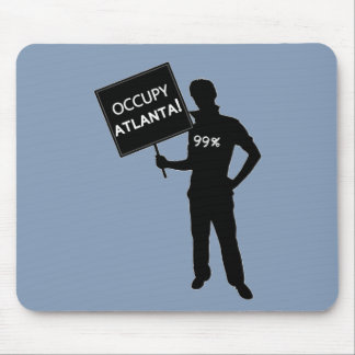Occupy Atlanta Sign Mouse Pad