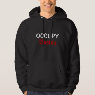 occupy boston hoodie