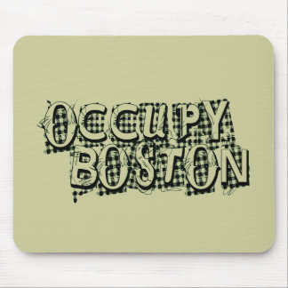Occupy Boston Mouse Pad