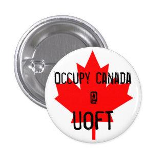 Occupy Canada @ UofT-University of Toronto 3 Cm Round Badge