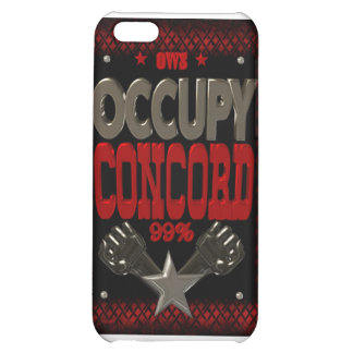 Occupy Concord OWS protest 99 strong poster iPhone 5C Cover