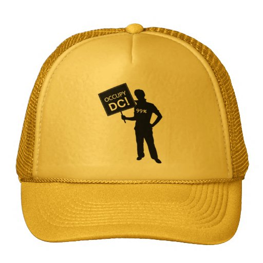 Occupy DC Sign Hats