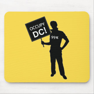 Occupy DC Sign Mouse Pads