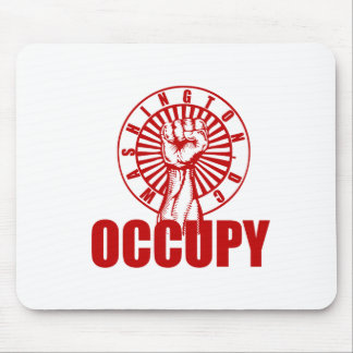 OCCUPY DC V0 555 MOUSE PAD
