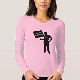 Occupy Denver Sign Shirt