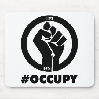 Occupy Fist Mouse Mats
