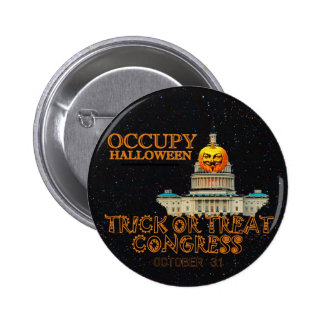 Occupy Halloween Oct. 31 6 Cm Round Badge