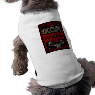 Occupy Honolulu OWS protest 99 percent strong Doggie Tee