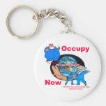 Occupy Keychain