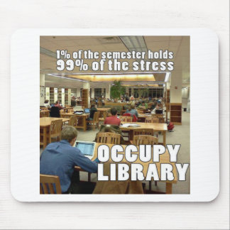Occupy Library Mouse Pads
