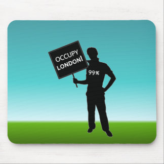 Occupy London Sign Mousepad