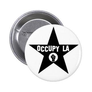 Occupy Los Angeles 6 Cm Round Badge