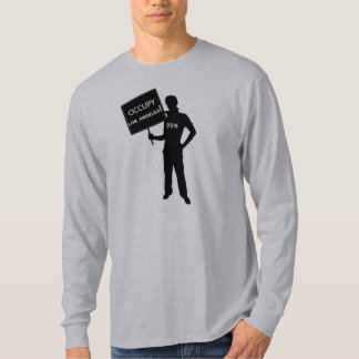 Occupy Los Angeles Sign Shirt