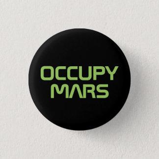 """OCCUPY MARS"" 1.25-inch button"