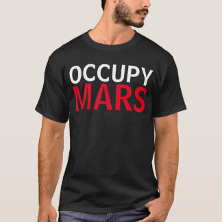 Occupy Mars shirt