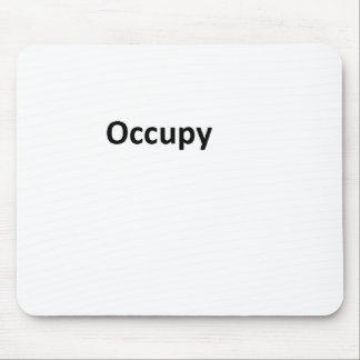 occupy mouse pad