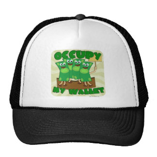Occupy My Wallet Mesh Hat