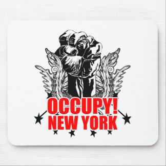 Occupy New York Mousepads