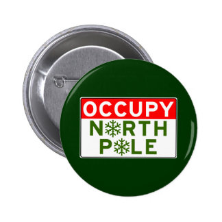 Occupy North Pole Buttons