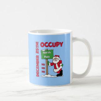 Occupy North Pole Basic White Mug