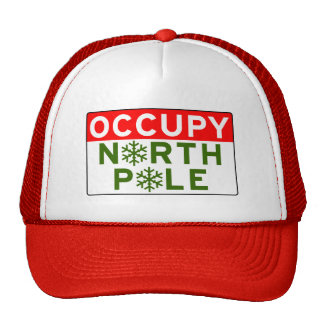 Occupy North Pole Trucker Hat