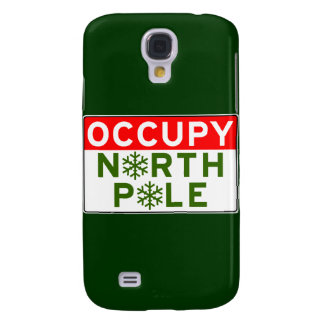 Occupy North Pole Samsung Galaxy S4 Covers