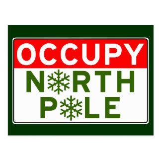 Occupy North Pole Postcard