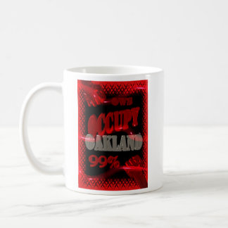 Occupy Oakland mug : We are the 99percent