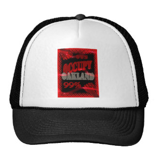 Occupy Oakland OWS protest hat