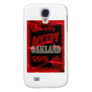 Occupy Oakland OWS protest Occupy wall street Samsung Galaxy S4 Covers