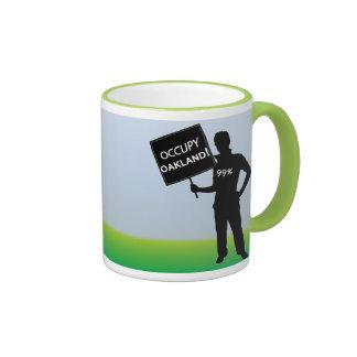 Occupy Oakland Sign Coffee Mug